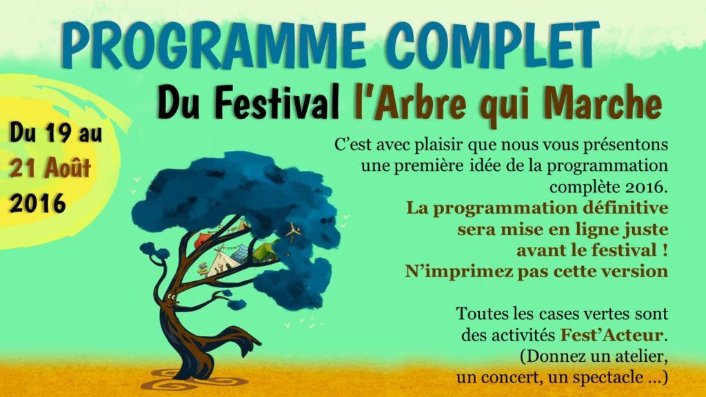 1 page Programme festival 2016