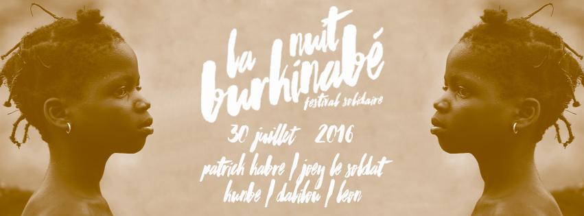 Bandeau Nuit Burkinabé