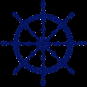 ecole-democratique-angers-sudbury-logo-eda-gouvernail-bleu