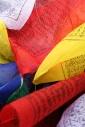 Drapeaux tibétain - éco-festival l\'Arbre qui Marche
