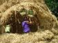 Tipis terre-paille paillage 2008 - éco-festival l\'Arbre qui Marche