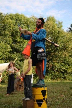 Ben le crieur de rue-dru - éco-festival l'Arbre qui Marche